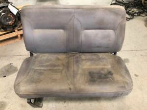 00 International 4000 7 6l Dt466 Used Rh Right Passenger Bench Seat Gray