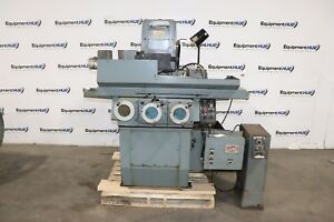 Brown And Sharpe 818 Micromaster 8 X 18 Hydraulic Surface Grinder