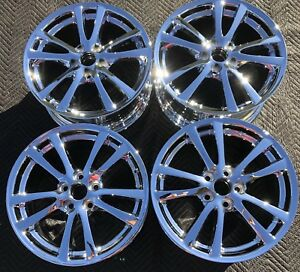 4 New Chrome 18 Lexus Is350 Is250 Oem Rims Wheels 74214 74189