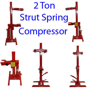 2 Ton Strut Coil Spring Compressor Hydraulic 4000 Lbs Free Shipping