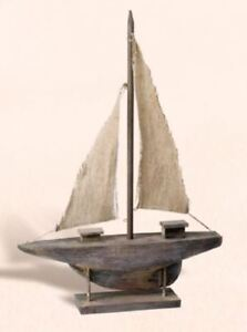 Wooden Model Sailboat Ms 777