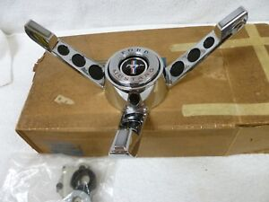 65 66 Nos Ford Mustang Steering Wheel Horn Blower 1965 1966 Fomoco Box