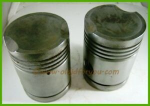 B2383r Ab3922r John Deere B 045 Gas Pistons With Wrist Pins And Snap Rings