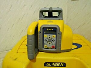 Spectra Precision Gl422n Dual Grade Laser Level Used Good Conditions