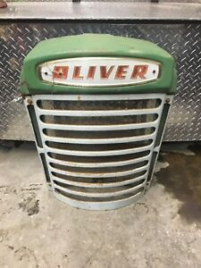 Oliver Tractor 770 880 Front Radiator Grille W Screen