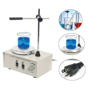 Magnetism Stirrer Heating Mixer Hot Plate Magnetic Lab Machine 1000ml Us Ship