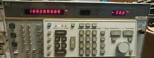 Hewlett Packard Hp 8662a Synthesized Signal Generator 10khz 1280mhz Opt 001 H25