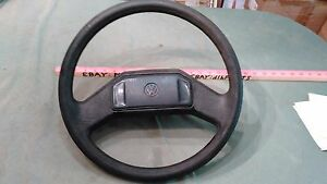 1985 Vw Golf Steering Wheel With Horn Button 321419660