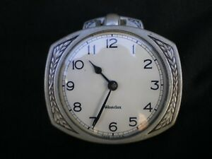 Vintage Westclox Car Clock Model A T Ford Chevy 1928 1929 1930 1931 1932 Dodge