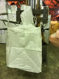 Spout Top Heavy Duty Fibc Bulk Super Sack 2ton Bag Woven 36x36x41 Bulk Bag