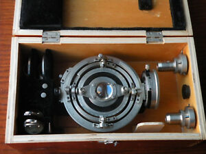 Lomo 5 axis Universal Fedorov Stage For Polarizing Pol Microscope