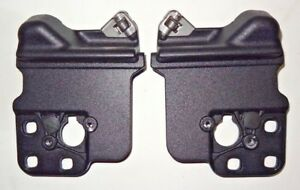 2005 2014 Ford Mustang Convertible Top Front Bow Latch Clamp Striker Plates Pair