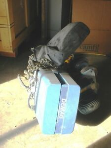 Demag 2 Ton Electric Hoist With Motorized Trolley