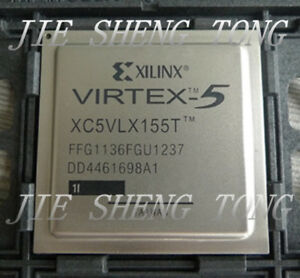 1pcs Xc5vlx155t 1ffg1136i Fpga Virtex 5 Lxt Family 65nm cmos Technology 1v 113