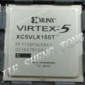 1pcs Xc5vlx155t 1ff1738c Fpga Virtex 5 Lxt Family 65nm cmos Technology 1v 1738