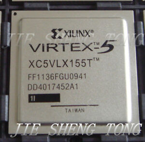 1pcs Xc5vlx155t 1ff1136i Fpga Virtex 5 Lxt Family 65nm cmos Technology 1v 1136