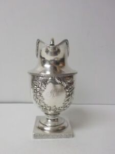 S Kirk Son Coin Silver Milk Jug Pitcher 395 Grams