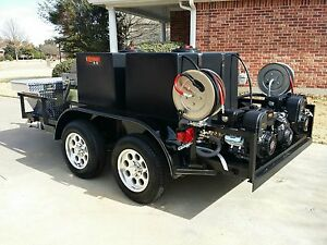 Hot Pressure Washing Trailer Custom Built W Warrantee many Available Options
