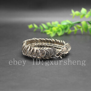 China Antique Collection Dragon Head Bracelet