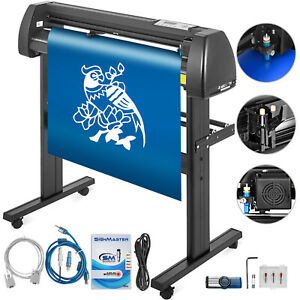 Vinyl Cutter Plotter Cutting 28 Sign Sticker Making Print Software 3 Blades Usb