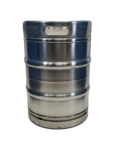 15 5 Gallon Stainless Steel Keg Used Sanke D Spear Half Barrel