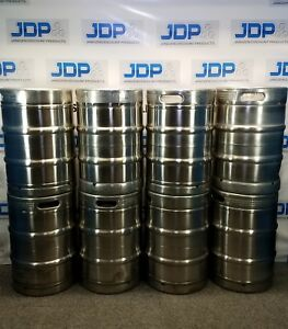 Stainless Steel Keg Used Sanke D Spear Half Barrel 15 5 Gallon