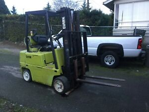 Clark C500 45 Forklift 3 Stage Hyster Toyota Propane 4000 Lbs Capacity