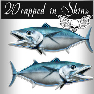 Rv Decals 2 Mackerel Fish Stickers 24 Boat Graphic Decals Fishing Stickers Rv 6