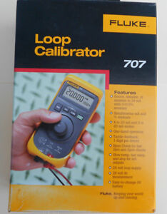Fluke 707 Current Loop Calibrator With Quick Click new In Box Msrp 725