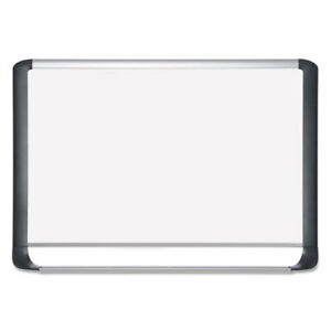 Lacquered Steel Magnetic Dry Erase Board 24 X 36 Silver black