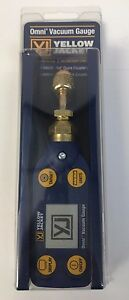 Yellow Jacket Jacket Omni Digital Vacuum Gauge With 1 4 Coupler 69020