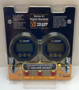 Yellow Jacket 46060 Series 41 Digital Manifold