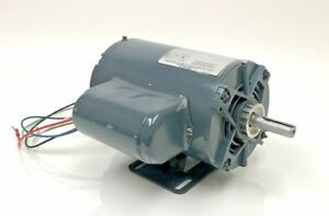 Ge General Electric 3 4 Hp A c Motor 115 230 V 1725 Rpm 56 Frame Single 1 Phase