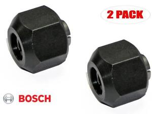 Bosch 2 Pack Of Genuine Oem Replacement Collets 2610018974 2pk