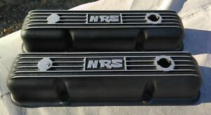 Vintage Nrs Nationwise Rod Shop Valve Covers Ford Fe 352 390 410 427 428 Rare