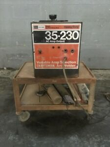 Craftsman 35 230 Variable Amp Arc Welder 113 201470 With Cart
