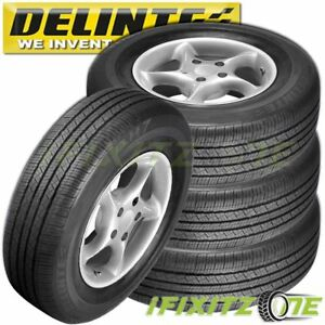 4 Delinte Dh7 255 70r17 112h All Season Highway Performance Tires 255 70 17