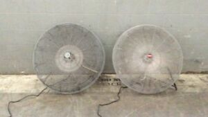 Dayton Industrial Exhaust Fans 9exk4 Qty 2