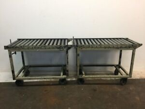 Industrial Rolling Carts Set Of 2