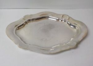 Reed Barton Sterling Silver 17 5 Tray 800 C 1934