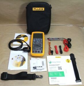 Fluke 289 fvf True Rms Industrial Multimeter Flukeview Forms Combo Kit New