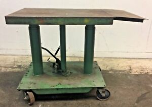 Foot Pump Hydraulic Lift Table