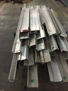 Assorted Aluminum I Beams Approximately 28 Pieces