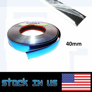 Auto Truck Accessory Silver Moulding Molding Strip Trim Protector Body Side 30ft