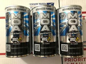 Bg Moa 115 Advanced Formula Engine Oil Supplement 3 Cans