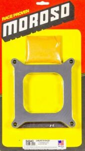 Moroso 4150 Square Bore Carburetor Spacer 1 Inch Thick Plastic 64940