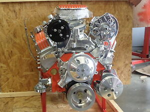 Chevy 350 Turn Key Hi Performance Roller Crate Engine 350 Hp Loaded Short Wp