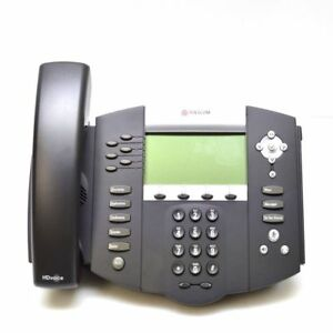Polycom Soundpoint Ip650 Sip 2200 12651 001 Ip Phone Used