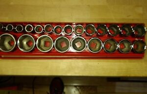 Mac Tools Metric 1 2 Drive 6 Point Socket Set 23 Pieces