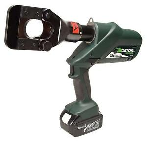 Greenlee Esg45l22 Gator Battery powered Acsr Cable Cutter With 230v Charger